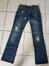 Lee sz 7 Low rise Bootcut  Trashed look BRAND NEW!