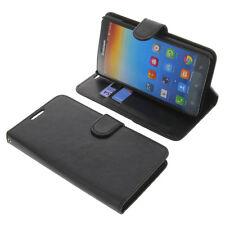 Funda para Lenovo A616 Smartphone estilo libro protectoras Móviles Negro