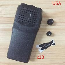 10x Replacement Kit Cases Housing For Motorola EP450 Portable Radio