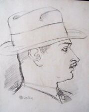 George Barbier portrait par Charles Martin 1929