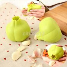 Magic Silicone Garlic Peeler Useful Kitchen Dining Tool Gadgets Color Random UK