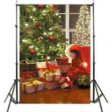 US Stock Christmas gifts Studio Backdrop Photography Prop Background 5X7FT SD87