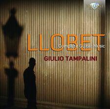 Giulio Tampalini-Llobet: tutte le chitarre musica CD NUOVO Llobet, Miguel