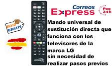 MANDO A DISTANCIA TV LG SMART TV 4K , LED , LCD  Funcionamiento inmediato