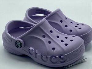 Crocs Baya Clog K 205483-530 Toddler Sandals(Girls) Size 11c  Purple NWT New