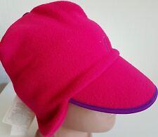 Cappello CONTE OF FLORENCE in Pile Cap Beanie Teschio Rosa Vintage Inverno  Orecchio Flap Fit 6dd48dc021c3
