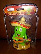 Solar Power Dancing Toys Green Chili Pepper
