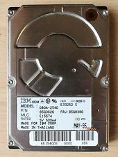 """HHD IBM DBOA-2540 - 540MB - 2.5"""" IDE Hard Drive Hard Disk - Rarität"""