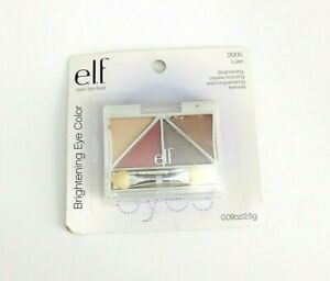 ELF E.l.f. Brightening Eye Color Eyeshadow Quad 2005 Luxe,  NEW & SEALED
