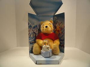 Disney Special Edition Winnie The Pooh Christmas Plush Bear