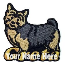 Norwich Terrier Dog Custom Iron-on Patch With Name Personalized Free