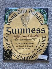 More details for guinness t-shirt irish logo size m bnip