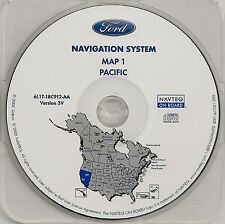 2004 2005 2006 Ford Expedition Navigation CD Map #1 Cover California Nevada