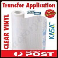 KASA CLEAR Transfer Application Vinyl Film Paper Tape Plotting Plotter Cutter !!