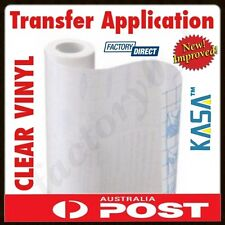 KASA CLEAR Transfer Application Vinyl Film Paper Tape Plotting Plotter Cutter !!