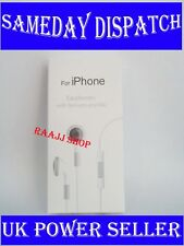 NEW HEADPHONE EARPHONE WITH REMOTE AND MIC FOR IPHONE 3G 3GS 4 4S 5 5S 6 6S UK