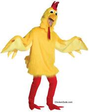 Adult Fuzzy Chicken Suit Costume - Deluxe Mascot