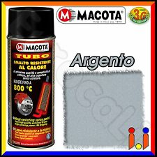 Macota Tubo 400ml Spray Smalto Resistente al Calore - Argento