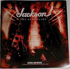 Jackson Guitar Bass Randy Rhoads Bloodline 2008 Catalog + POSTER 991-5020-368