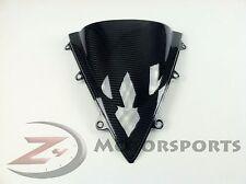 2012-2016 Honda CBR1000rr Front Nose Visor Windshield Screen Cover Carbon Fiber
