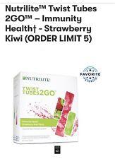 Nutrilite Twist Tubes 2GO Immunity Health Strawberry & Kiwi -20Tubes(💯%organic)