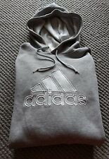 Adidas Xxl 2XL para hombre gris con capucha sudor