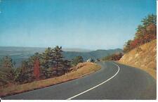 Vintage Postcard Skyline Drive Front Royal Virginia