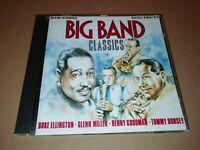 VARIOUS ARTISTS * BIG BAND CLASSICS * CD ALBUM MILLER DORSEY GOODMAN ELLINGTON