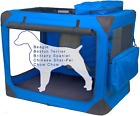Pet Gear 3 Door Portable Soft Crate, Folds Compact for Travel in Seconds No with