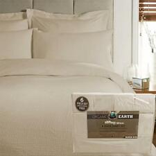 Organic Earth Aloe Vera Bamboo 1800 Series 6-Piece Sheet Set QUEEN