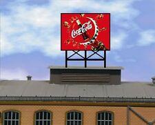 lauflichtwerbung Coca Cola 3 Reklame SET für Vollmer Faller Kibri Wohnhäus