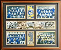 PARRAMATTA EELS PREMIERSHIP YEARS Memorabilia Limited Edition Framed Comes COL