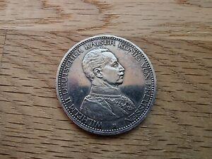 Preussen 5 Mark 1913 A Silber Münze