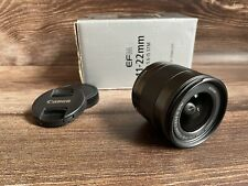 """Canon EF-M 11-22mm f/4-5.6 IS STM """" Excellent Condition"""""""
