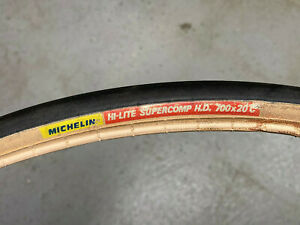 Michelin Hi-lite supercomp HD 700x20 tire gum-wall