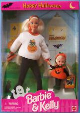 1996 Happy Halloween Fun Barbie & Kelly Gift Set #17288 Nrfb