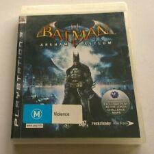 SONY PLAYSTATION 3 PS3  BATMAN ARKHAM ASYLUM  FREE POSTAGE