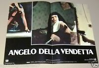 Set of 6 Angelo della Vendetta Ms. 45 ZOE TAMERLIS Italian Movie Lobby Card 80s