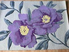 Neuf Fleur Mélange Laine Tapis taille 171 cm Long 122 cm largeur