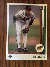 1989 Upper Deck #17 John Smoltz HOF Rookie Card Mint
