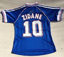 Retro Football Shirt Zidane France 1998 Winner World Cup