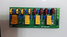Assembled 12v 100W 3.5Mhz-30Mhz HF power amplifier low pass filter