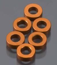 New Axial AX10 Spacer 2x6mm Orange (6PCS) AXA1351