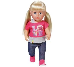 BABY Born Sister Doll Best Gift Christmas For Kids above 3 years