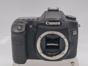 Canon EOS 40D Digital SLR Camera Body - Impact! Live View Only Err 99 - 22K Accs