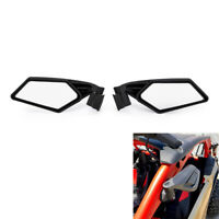 1 Pair Racing Side Mirrors Set For Can-Am Maverick X3 Max 4x4 Turbo DPS 2018