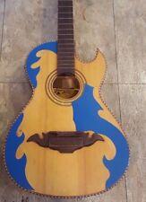 Guitarras De Parracho  Micas Bajo Quinto (Pickguards Only) Blue Azul