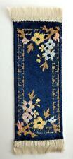 Dolls House Blue Lovelia Belgium Peking Rug Carpet Runner Miniature 1:12 Scale