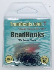 TROUTBEADS HOOK / SIZE 10 / 25 HOOKS PER PACK **NEW**