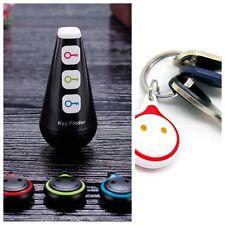 Key Wireless Finder Lost Locator Gift Keychain Anti Sound Led Light Christmas